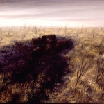 Serie Ceniza húmeda. 1992. Óleo / tela  89 x 116 cm