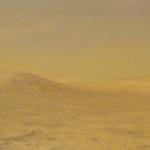 El desierto lejano. 1993. Óleo / tabla 60 x 180 cm.