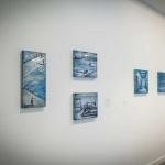 Exposición Los nadadores. Galería A del Arte, 2015