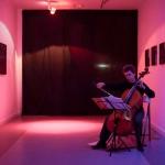 Instalación Hacia la noche. Galería A del Arte, 2015